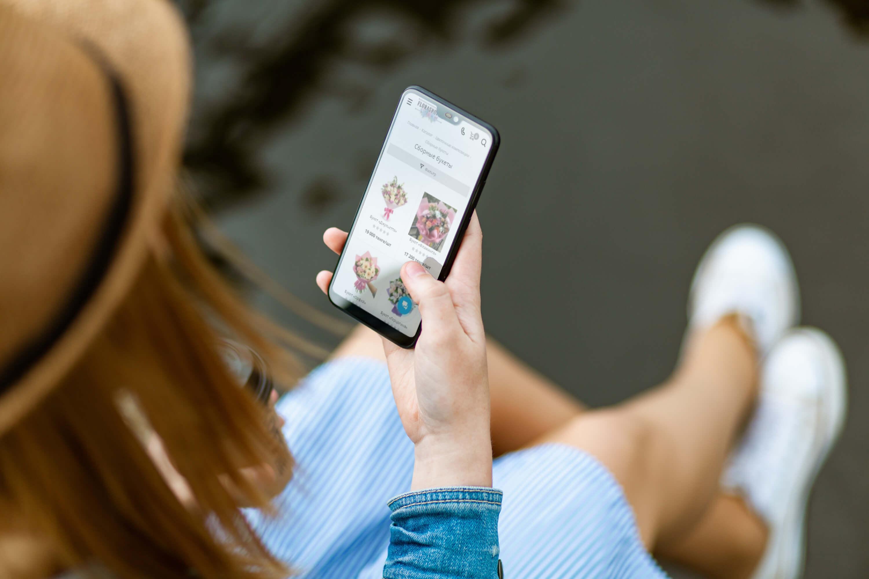 Мобильная версия интернет-магазина Flora Shop